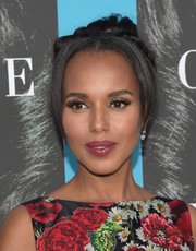 Kerry Washington looked oh-so-lovely with her twisted bun and center-parted bangs at the premiere of 'Confirmation.'