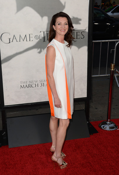 More Pics of Michelle Fairley Strappy Sandals (6 of 12) - Michelle Fairley Lookbook - StyleBistro