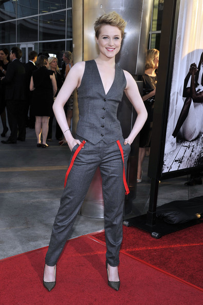 More Pics of Evan Rachel Wood Vest (2 of 15) - Evan Rachel Wood Lookbook - StyleBistro