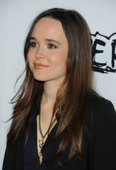 More Pics of Ellen Page Long Curls (4 of 19) - Ellen Page Lookbook - StyleBistro