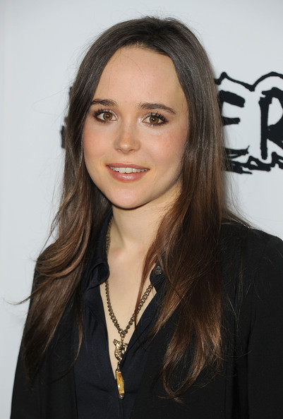 More Pics of Ellen Page Long Curls (5 of 19) - Ellen Page Lookbook - StyleBistro