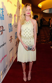 Kate Bosworth carried this petite clutch to the 'L!fe Happens' premiere.