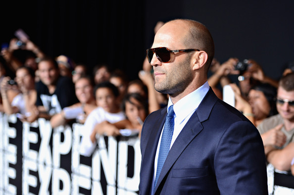 More Pics of Jason Statham Rectangular Sunglasses (1 of 15) - Jason Statham Lookbook - StyleBistro