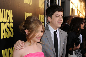 "Christopher Mintz-Plasse Chloe Grace Moretz Premiere Of Lionsgate's ""Kick-Ass"" - Arrivals"