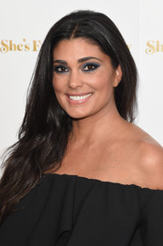 Rachel Roy wore a casual-chic center-parted 'do to the premiere of 'She's Funny That Way.'
