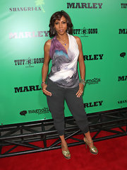 Holly Robinson Peete attended the premiere of 