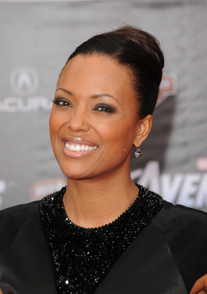 More Pics of Aisha Tyler Classic Bun (1 of 11) - Updos Lookbook - StyleBistro