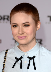Karen Gillan rocked a close-cropped pixie at the premiere of 'Thor: The Dark World.'