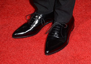Kimberly Peirce attended the 'Carrie' premiere wearing a pair of flat black Oxfords.