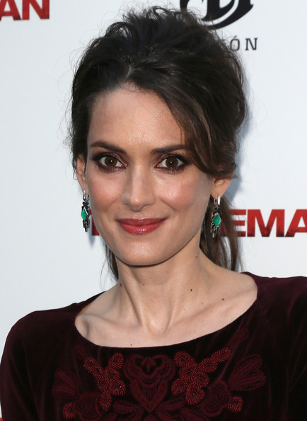 More Pics of Winona Ryder Smoky Eyes (1 of 27) - Makeup Lookbook - StyleBistro