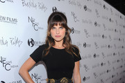 Actress Lake Bell arrives to the premiere of New Films Cinema's