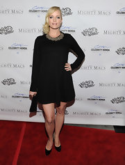 Marley Shelton topped off her LBD at 'The Mighty Macs' premiere with classic patent leather pumps.