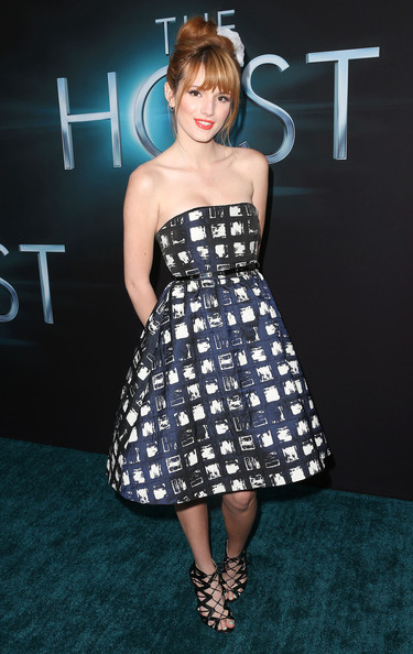 Bella Thorne at 'The Host' Hollywood Premiere