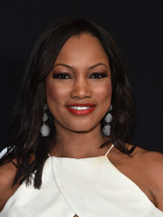 Garcelle Beauvais styled her hair with piecey waves for the premiere of 'Sleepless.'