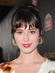 Mary Elizabeth Winstead perfected her pout with a stunning red lipstick at the premiere of 'Like Crazy.'