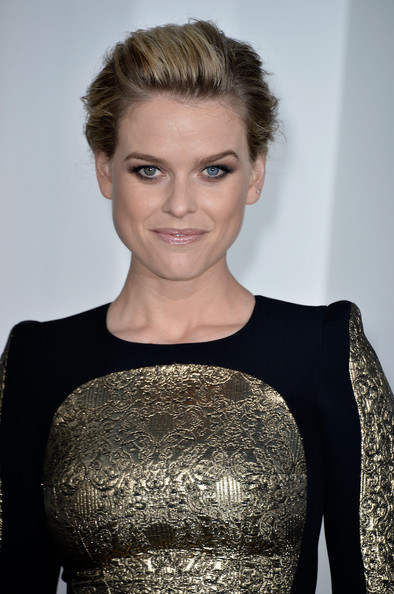 More Pics of Alice Eve Bobby Pinned updo (1 of 26) - Alice Eve Lookbook - StyleBistro
