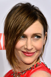 Vera Farmiga went the punky route with this messy cut at the premiere of 'Bates Motel' season 2.