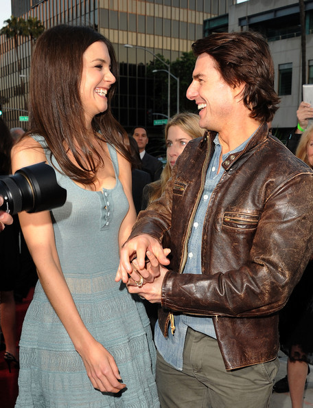 More Pics of Katie Holmes Long Straight Cut (5 of 52) - Long Hairstyles Lookbook - StyleBistro [the kennedys,fashion,event,leather,textile,leather jacket,premiere,jacket,style,actors,tom cruise,katie holmes,beverly hills,california,reelzchannel,the reelzchannel world,premiere,premiere]