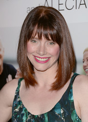 Bryce Dallas Howard wore her hair in a classic mid-length bob when she attended the 'Thanks for Sharing' premiere.