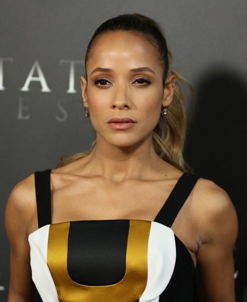Dania Ramirez styled her locks into a wavy ponytail for the premiere of 'Free State of Jones.'