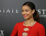 Gugu Mbatha-Raw looked youthful wearing this girl-next-door ponytail at the premiere of 'Free State of Jones.'