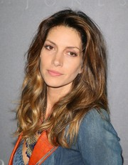 Dawn Olivieri wore her hair loose with gentle waves when she attended the premiere of 'Free State of Jones.'