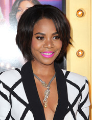 Regina Hall wore her hair in a short bob at the premiere of 'Think Like a Man Too.'