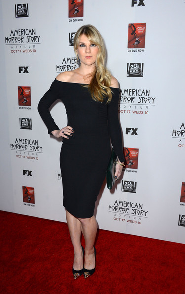 More Pics of Lily Rabe Off-the-Shoulder Dress (1 of 3) - Off-the-Shoulder Dress Lookbook - StyleBistro