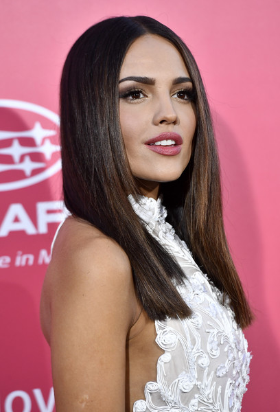 More Pics of Eiza Gonzalez Halter Dress (1 of 21) - Dresses & Skirts Lookbook - StyleBistro