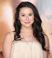 Alexa Vega wore her hair in long carefree curls at the premiere of 'The Vow.'