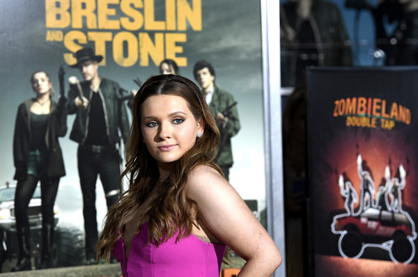 More Pics of Abigail Breslin Long Wavy Cut (3 of 9) - Abigail Breslin Lookbook - StyleBistro [movie,album cover,photography,fiction,fictional character,arrivals,abigail breslin,zombieland double tap,california,regency village theatre,sony pictures,westwood,premiere]