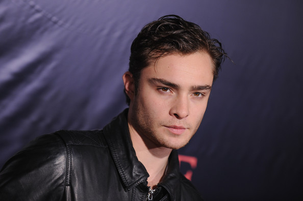 More Pics of Ed Westwick Messy Cut (1 of 4) - Ed Westwick Lookbook - StyleBistro