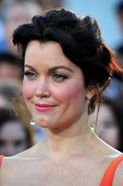 Bellamy Young swept her hair up into a romantic 'do for the 'Divergent' premiere.