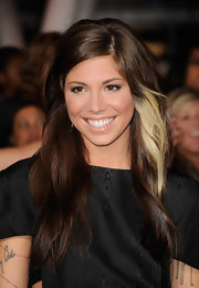 Christina wore her long hair in side-parted relaxed waves at the 'Breaking Dawn' premiere in LA.