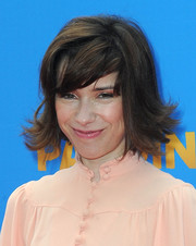 Sally Hawkins went retro with this flipped 'do at the prmeiere of 'Paddington.'