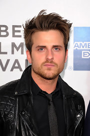 An edgy 'do made Jared Followill all the more handsome.