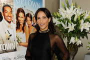 Paula Patton Wears Ippolita Studs to Premiere of 'Jumping the Broom'