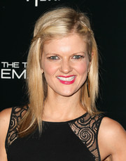 Arden Myrin looked cute with her partially braided 'do at the premiere of 'The Truth About Emanuel.'