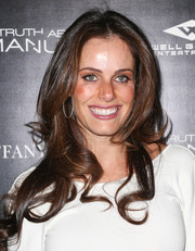 Gabriela Dias looked fab with her face-framing waves during the premiere of 'The Truth About Emanuel.'
