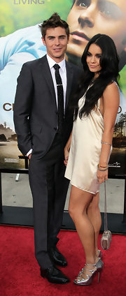 Zac Efron had some fun with his hair stylist... going for a spiked faux hawk at the Charlie St Cloud premiere.