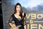 Actress Nina Dobrev attends the Premiere of Universal Pictures