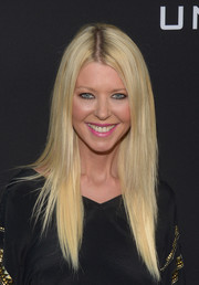 Tara Reid sported perfectly styled layers at the premiere of 'Undrafted.'