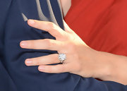Jennifer's hand must get tired from toting around that massive diamond ring all the time.