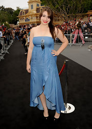 Sophie Simmons channeled her inner bohemian by wearing a tube day dress at the premiere of the 'Pirates of Caribbean.'
