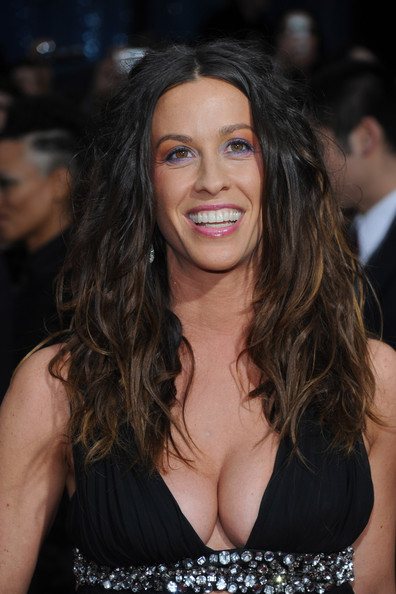 More Pics of Alanis Morissette Long Wavy Cut (1 of 12) - Alanis Morissette Lookbook - StyleBistro