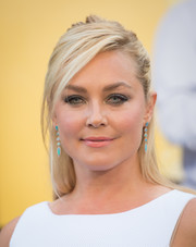 Elisabeth Rohm rocked an edgy half-up style at the premiere of 'Central Intelligence.'