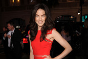 Actress Michelle Monaghan arrives at the premiere of Warner Bros. Pictures'