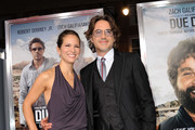 Executive producer Susan Downey and actor Robert Downey Jr. arrive at the premiere of Warner Bros. Pictures'