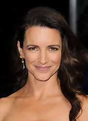 Kristin Davis wore a soft shimmering mauve lipstick at the premiere of 'Journey 2: The Mysterious Island.'