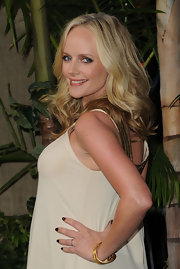 Marley Shelton wore a rich black-brown polish at the premiere of 'Journey 2: The Mysterious Island.'